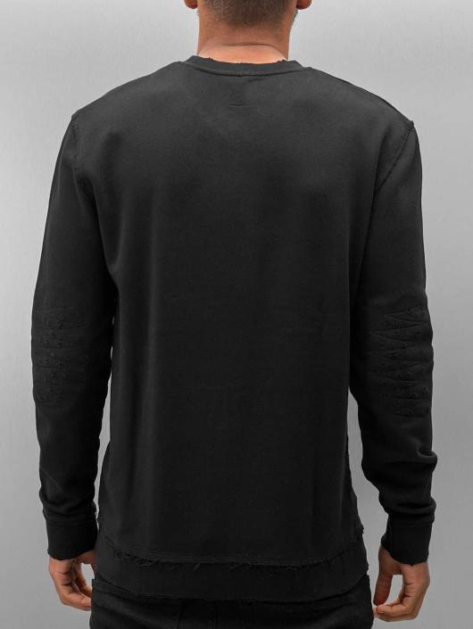 DEF Пуловер Chaos черный