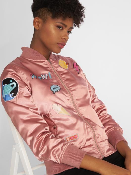 DEF Bomberjacke Wow! rosa