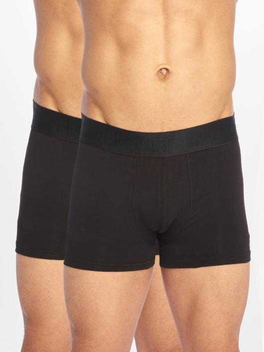 DEF Boxershorts Double Pack schwarz