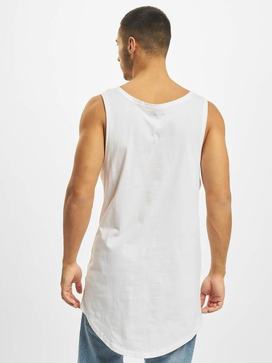 Blanc Basic Long Débardeur Homme Def 330792 1lFJ3u5TKc