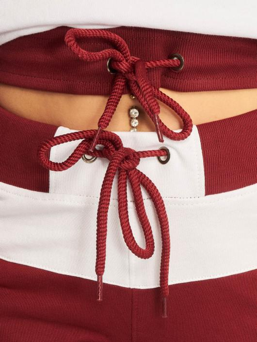 DEF Dresy Sweat Suit czerwony