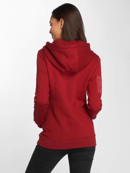 DEF Hoodie Upper Arm Pocket red