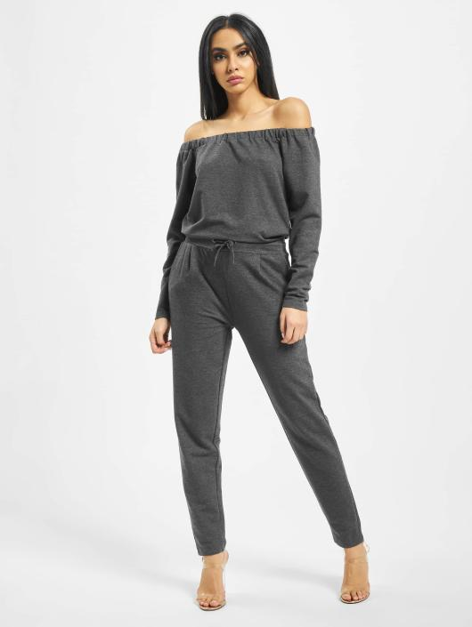 DEF Jumpsuits Stretch grå