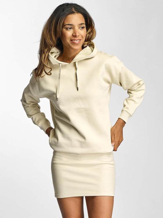 DEF jurk Cropped beige