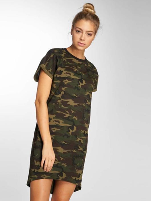 DEF Klänning Lexy kamouflage