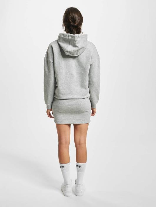 DEF Kleid Cropped grau