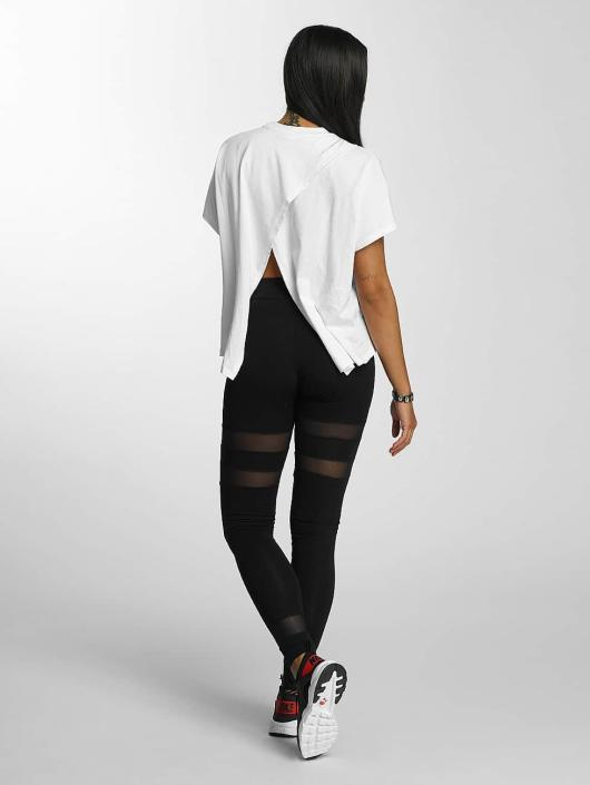 DEF Leggings/Treggings Mesh czarny