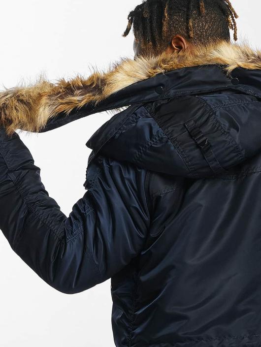 DEF Manteau hiver Sondre bleu