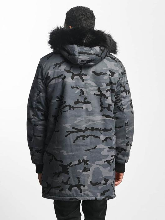 DEF Manteau hiver Bomber camouflage