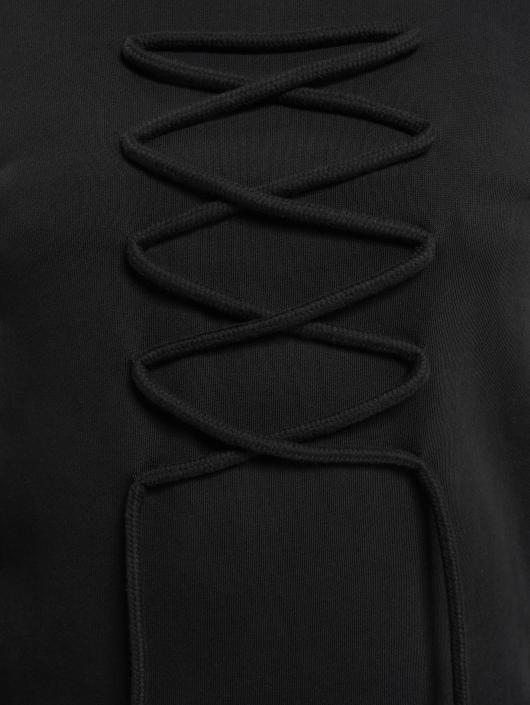 DEF Pullover lace black