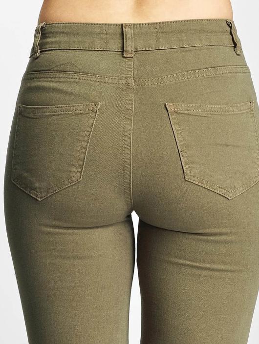 DEF Skinny Jeans Cut olive