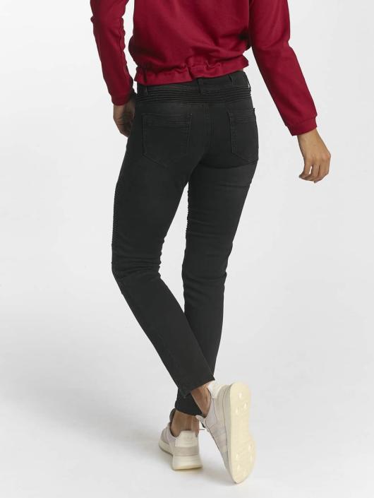 DEF Slim Fit Jeans Ribbed black