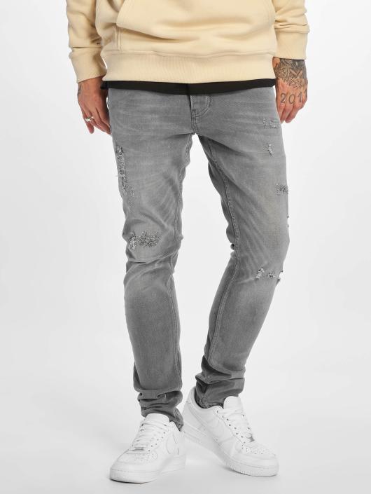 DEF Slim Fit Jeans Skom grau