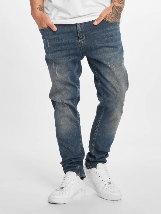 DEF Slim Fit Jeans Tommy modrá