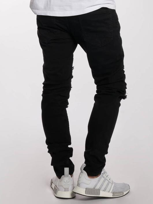 DEF Slim Fit Jeans King svart
