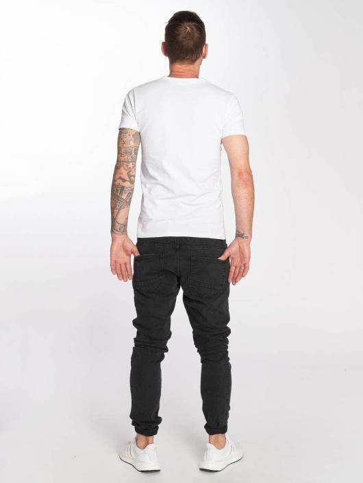 DEF Slim Fit Jeans Skom svart