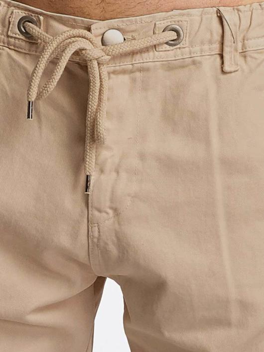DEF Spodnie Chino/Cargo Kindou bezowy