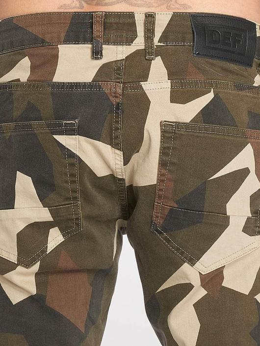 DEF Spodnie Chino/Cargo Kliv moro