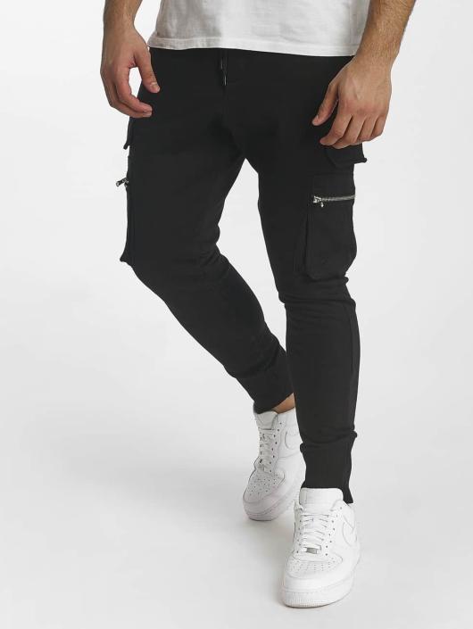 DEF Spodnie do joggingu Bohot czarny