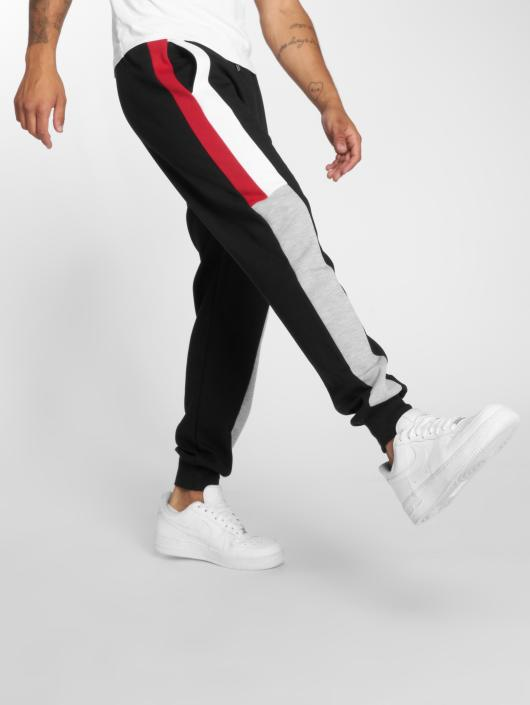 DEF Spodnie do joggingu Lake czarny