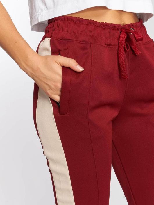 DEF Spodnie do joggingu Silija czerwony