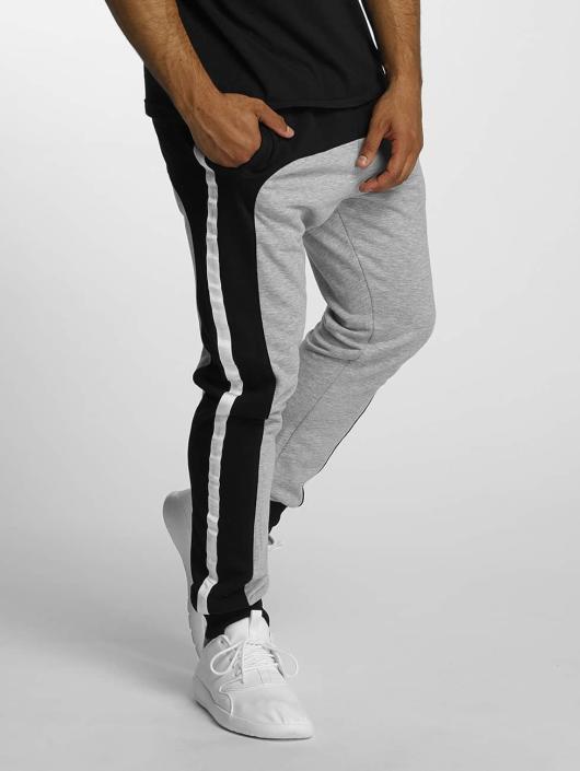 DEF Spodnie do joggingu Contrast szary
