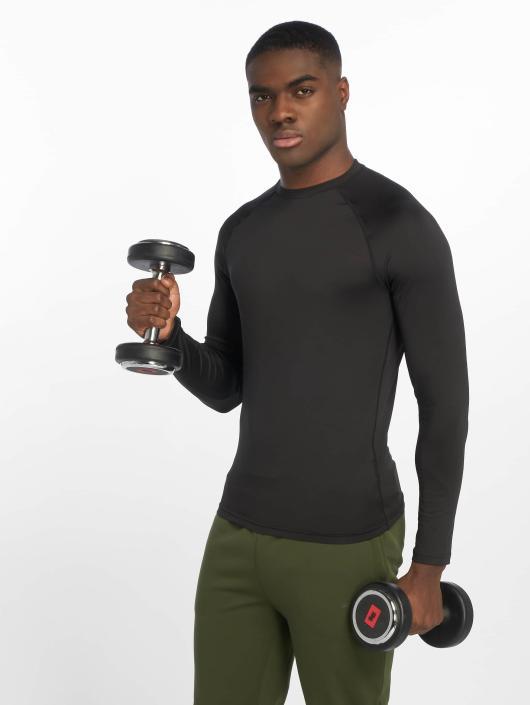 DEF Sports Longsleeve Eckini zwart