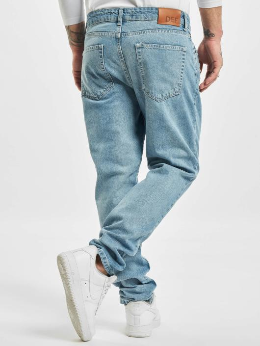 DEF Straight Fit Jeans Carl blå
