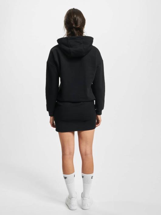 DEF Sukienki Cropped czarny