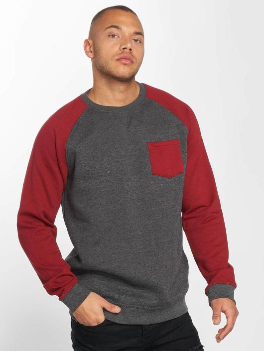 Fred 394370 Pull Sweatamp; Homme Gris Def mwnN80
