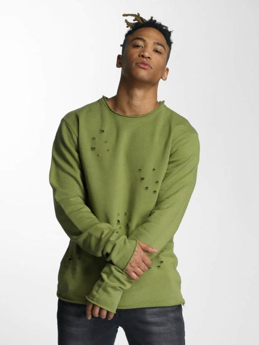 Tomen Homme Pull Sweatamp; Olive Def 291598 rdtCsQhx