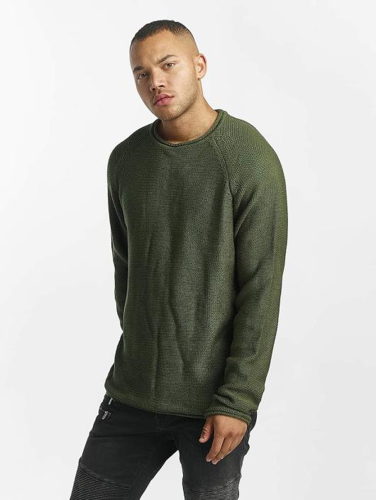 DEF Sweat & Pull Knit olive