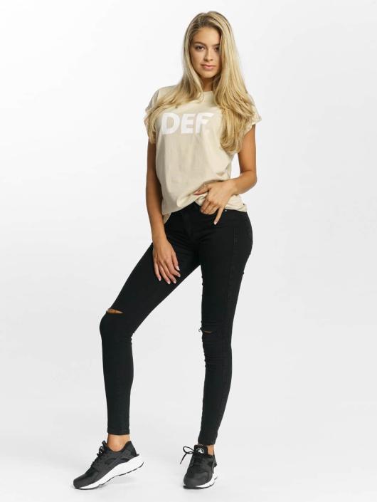 DEF T-Shirt Sizza beige