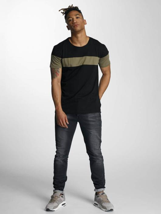DEF T-Shirt Stripe black