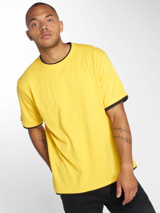 DEF t-shirt Basic geel