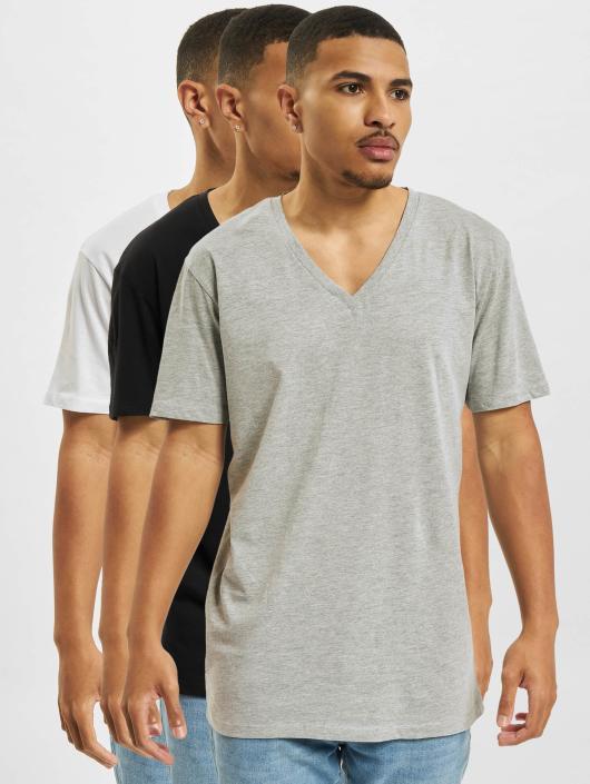 DEF T-Shirty 3 Pack czarny