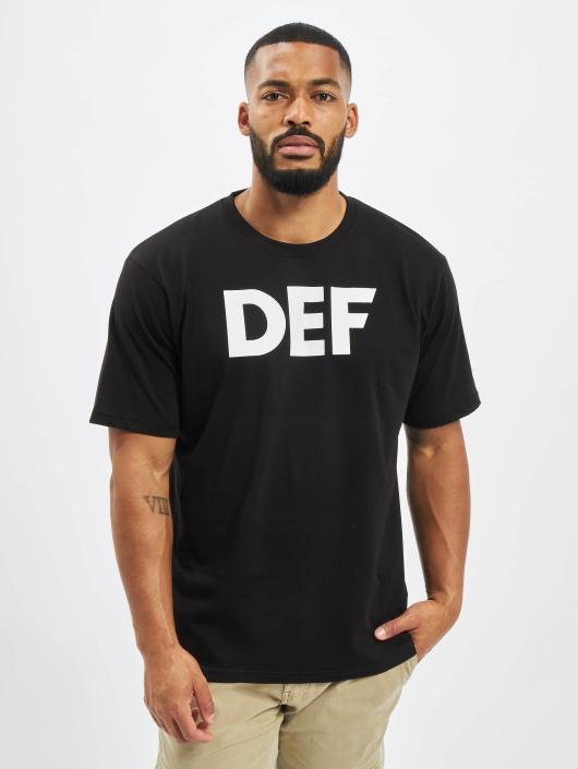 DEF T-Shirty Her Secret czarny