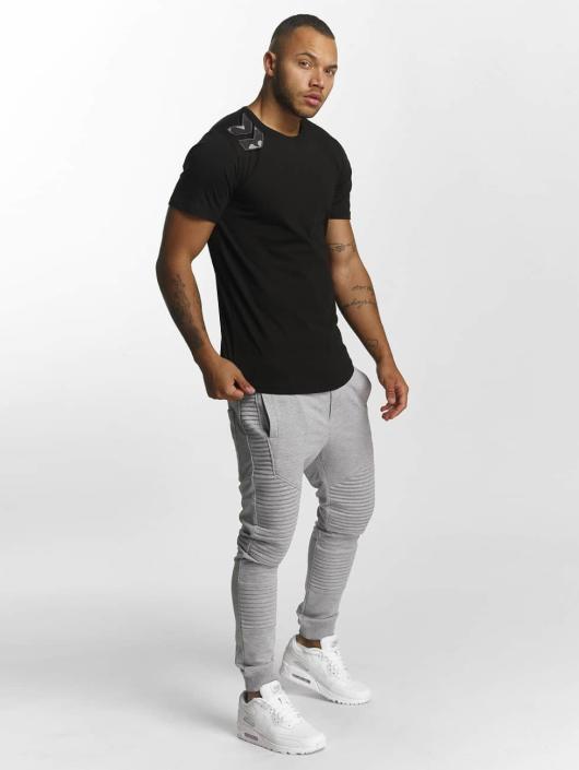DEF T-Shirty Arrow czarny