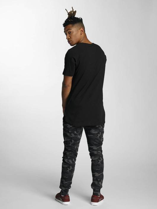 DEF T-Shirty Future Xan Gang czarny