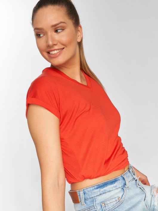DEF T-Shirty Iris czerwony