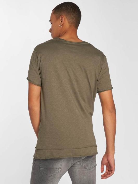 DEF T-Shirty Bica oliwkowy
