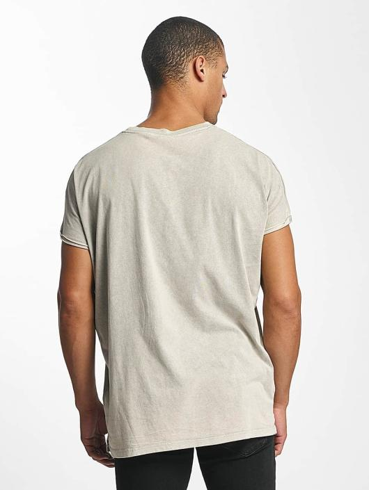 DEF T-Shirty Miguel Pablo Oversize szary