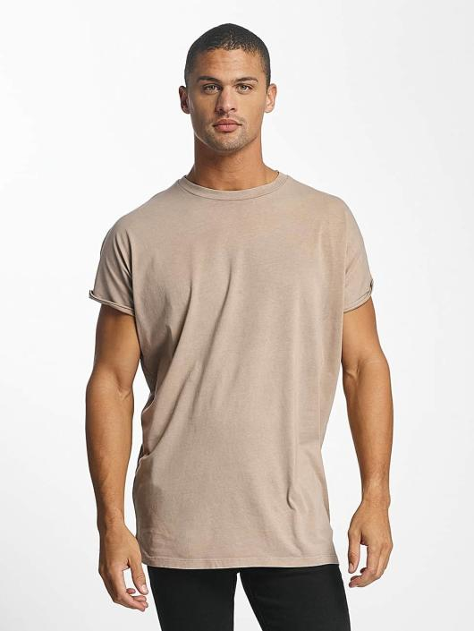 DEF T-skjorter Miguel Pablo Oversize beige