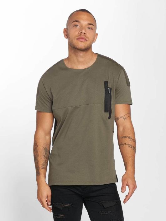 DEF T-skjorter Shrine oliven