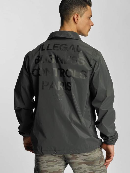 Defend Paris Prechodné vetrovky Illegal èierna