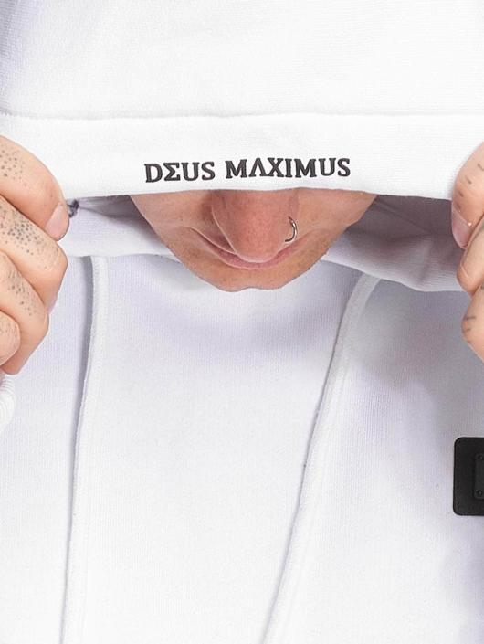 Deus Maximus Bluzy z kapturem Cano bialy