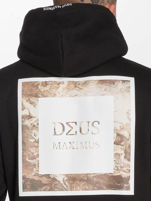 Deus Maximus Bluzy z kapturem Orazio czarny
