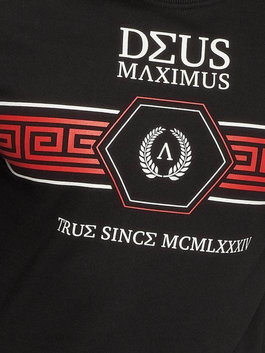 Deus Maximus Gensre Virtus svart