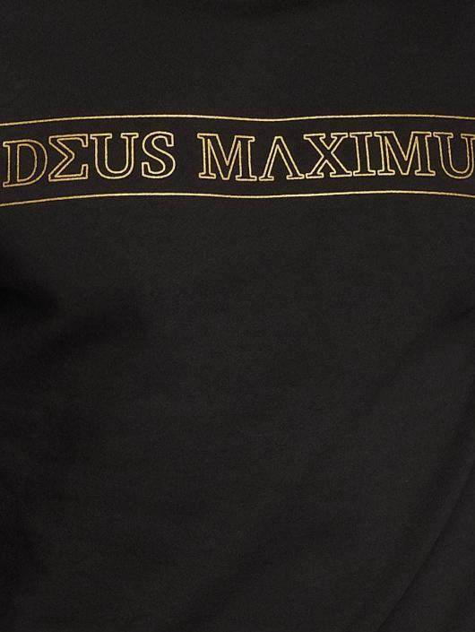 Deus Maximus Pullover Honos schwarz