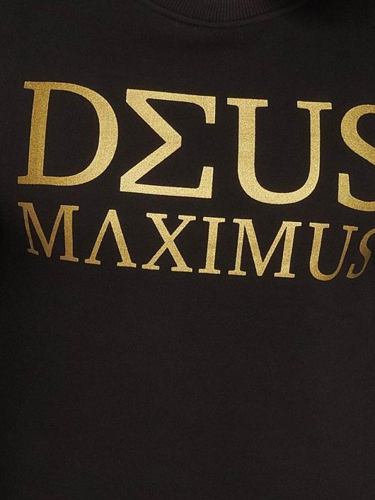 Deus Maximus Pullover Nerio schwarz